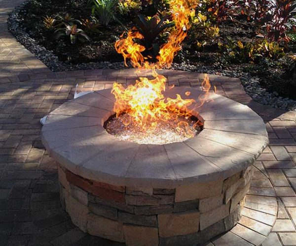Natural Gas Firepit   Jacobs Total Gas Services - Expert Propane & Natural Gas Installation Services in Naples, Marco Island, Bonita Springs & Estero