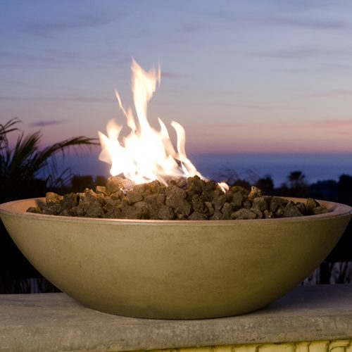 Firepit at Sunset   Jacobs Total Gas Services - Expert Propane & Natural Gas Installation Services in Naples, Marco Island, Bonita Springs & Estero