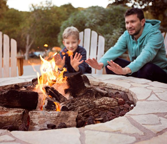 Family Firepit | Jacobs Total Gas Services - Expert Propane & Natural Gas Installation Services in Naples, Marco Island, Bonita Springs & Estero